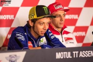 Valentino Rossi, Andrea Iannone - © GP-Fever.de