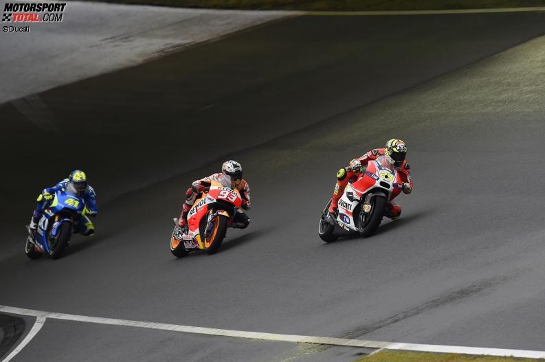 Andrea Iannone, Marc Marquez - © Ducati