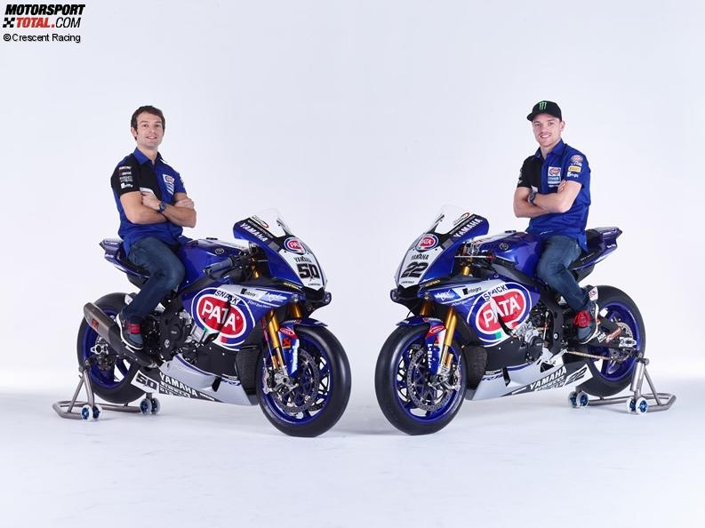 Sylvain Guintoli, Alex Lowes - © Crescent Racing