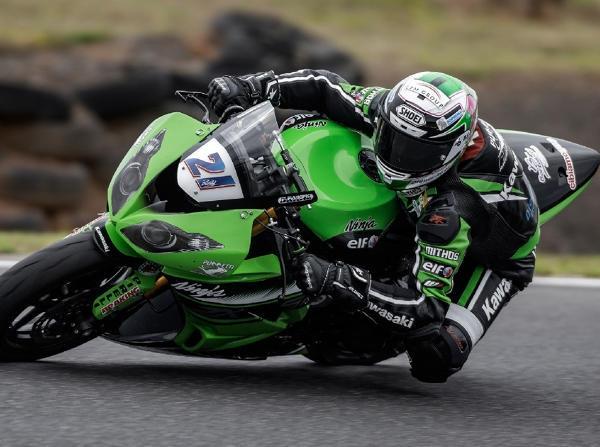 Randy Krummenacher - © Kawasaki Puccetti Racing Team