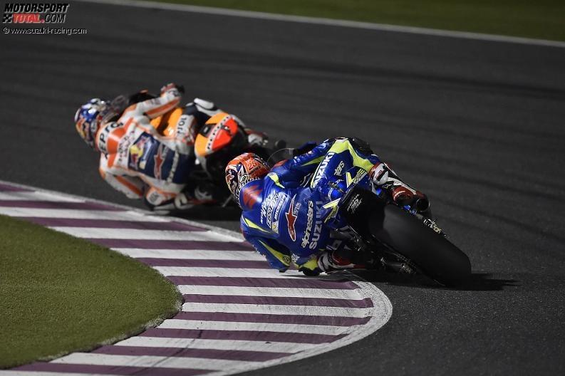 Maverick Vinales, Daniel Pedrosa - © www.suzuki-racing.com