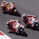 Andrea Dovizioso, Andrea Iannone, Daniel Pedrosa - © Ducati