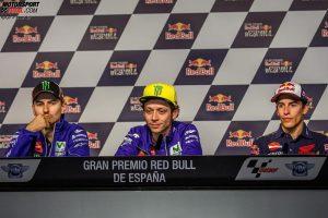 Jorge Lorenzo, Valentino Rossi, Marc Marquez - © GP-Fever.de