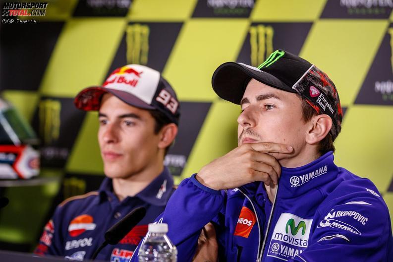 Marc Marquez, Jorge Lorenzo - © GP-Fever.de