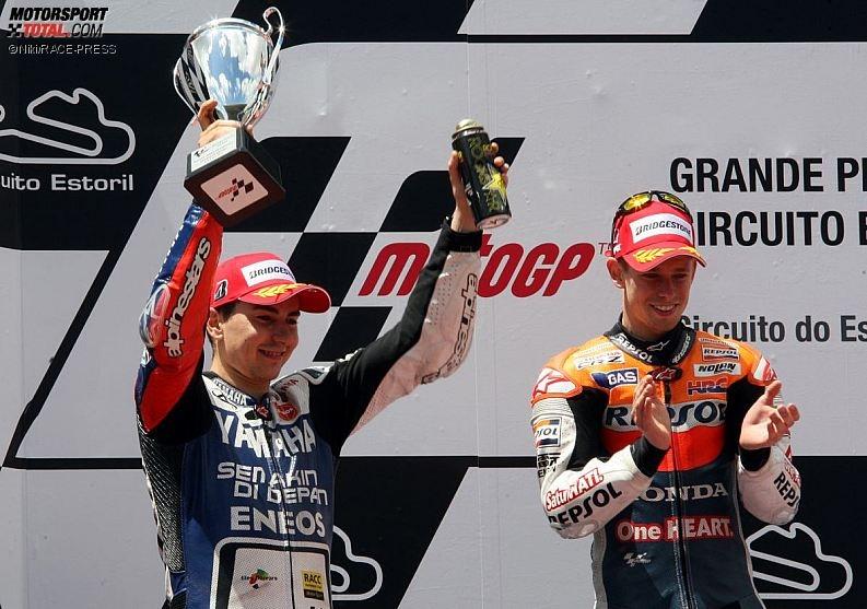 Jorge Lorenzo, Casey Stoner - © Niki_RACE-PRESS