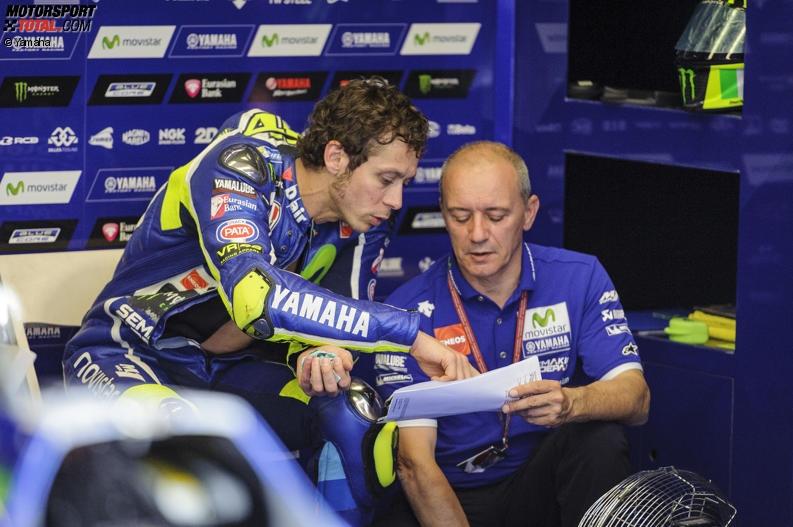 Luca Cadalora, Valentino Rossi - © Yamaha
