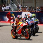 Marc Marquez, Jorge Lorenzo, Valentino Rossi - © Repsol