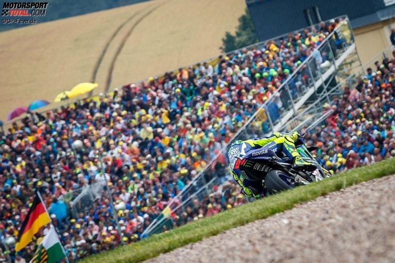 Valentino Rossi: Sachsenring ist eine