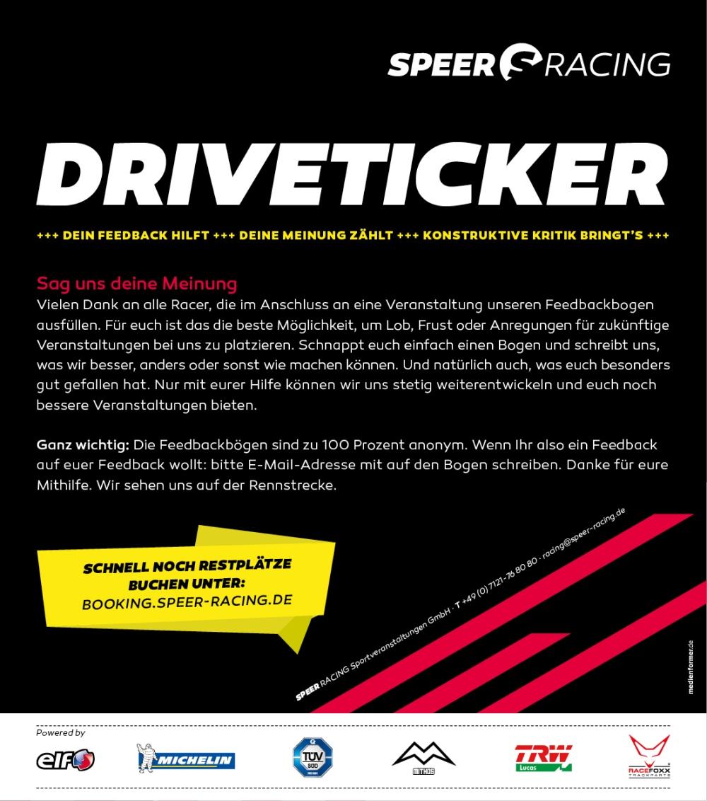 speer racing m chte heizer feedback gaskrank magazin. Black Bedroom Furniture Sets. Home Design Ideas