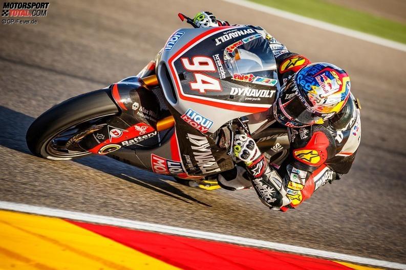 AragonGP Intact Moto2: Folger frustriert, Cortese enttäuscht