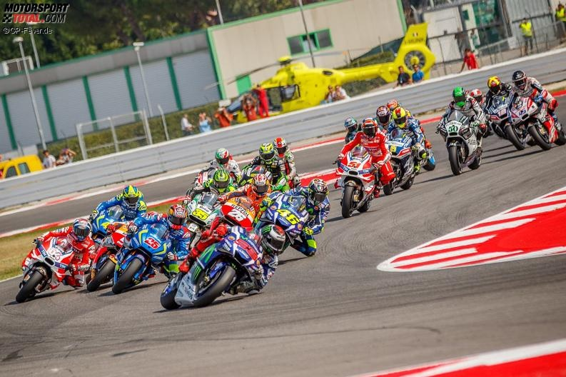 MotoGP Start © GP-Fever.de
