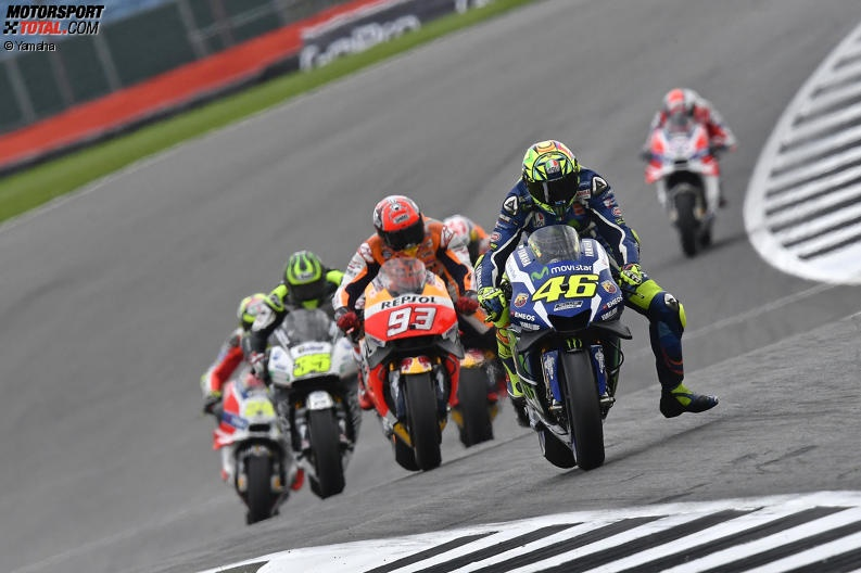 Valentino Rossi, Marc Marquez ©-Yamaha