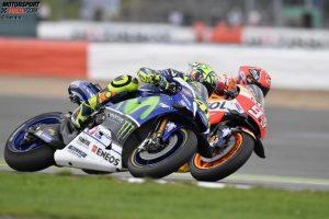 Valentino Rossi, Marc Marquez - © Yamaha