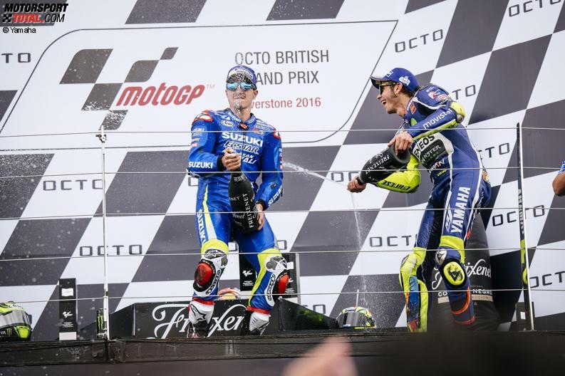 Valentino Rossi, Maverick Vinales - © Yamaha