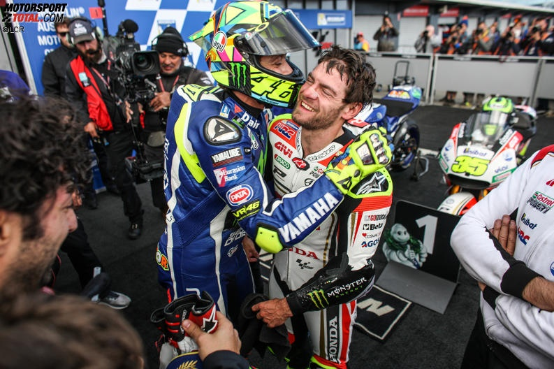 Cal Crutchlow, Valentino Rossi - © LCR