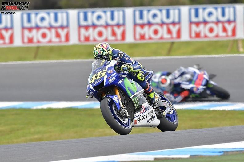 Yamaha: Holt Valentino Rossi in Malaysia den Vizetitel?