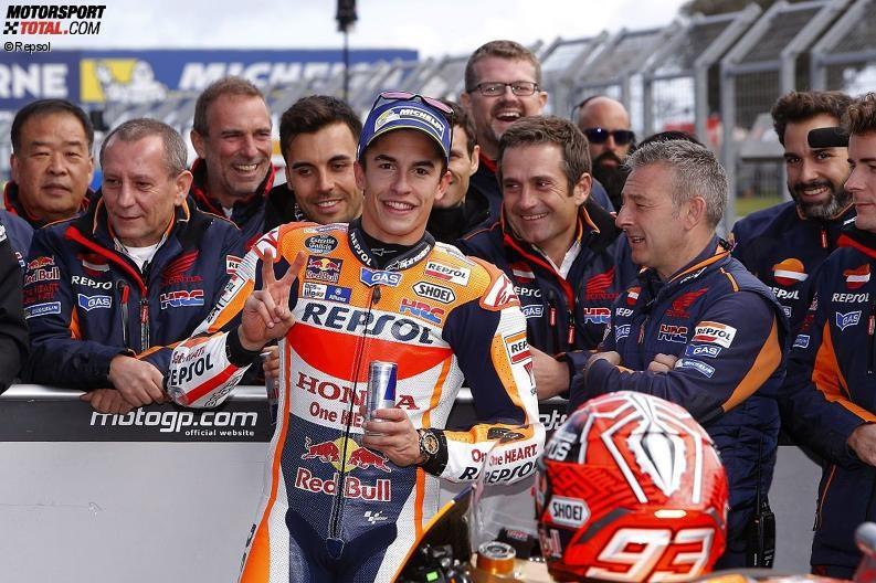 AustralianGP - Marc Marquez: Risiko zahlt sich im Qualifying aus