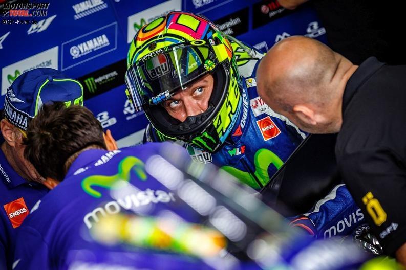 Valentino Rossi startet in Australien mit gebrochenem Finger