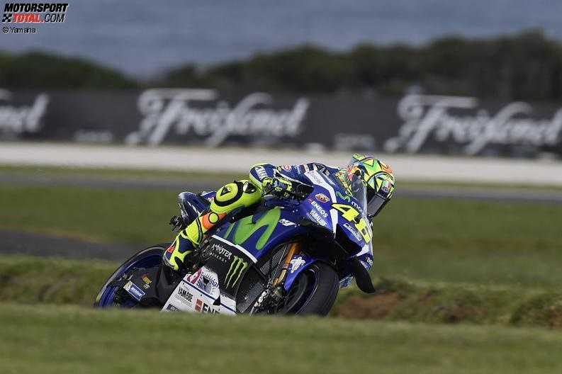 AustralianGP - Yamaha im Niemandsland: