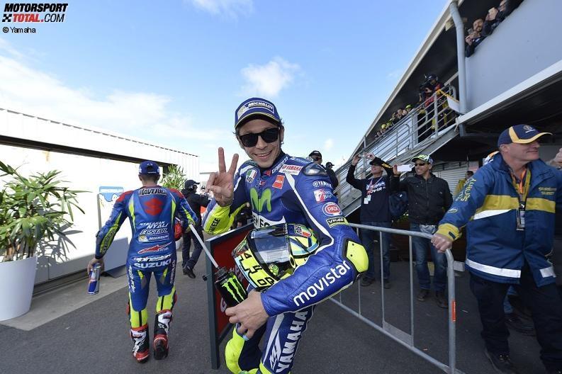 AustralienGP Valentino Rossi:
