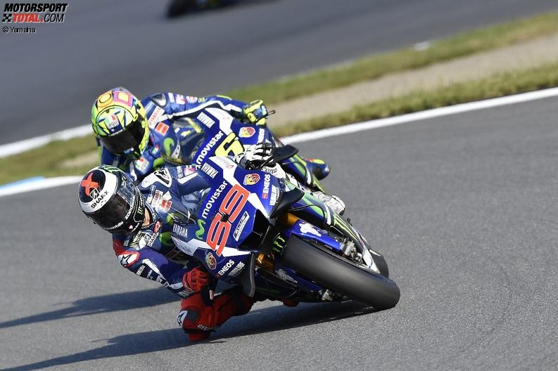 Yamaha: Duell zwischen Rossi & Lorenzo um den Vizetitel