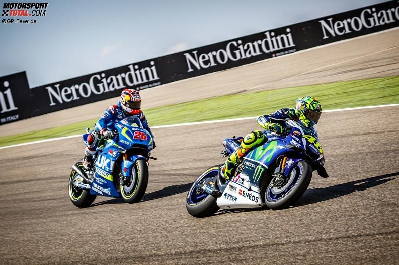 Valentino Rossi, Maverick Vinales - © GP-Fever.de