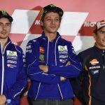 Jorge Lorenzo, Valentino Rossi, Marc Marquez - © Yamaha