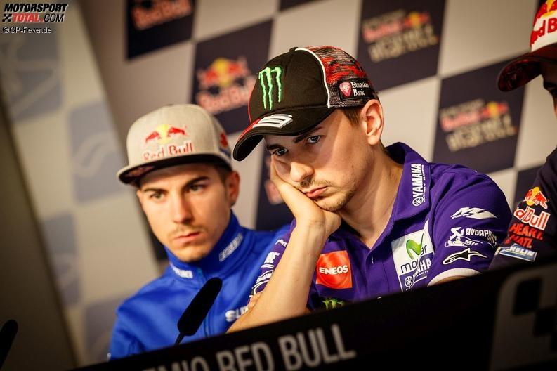 Maverick Vinales, Jorge Lorenzo - © GP-Fever.de