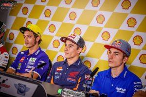 Valentino Rossi, Marc Marquez, Maverick Vinales - © GP-Fever.de
