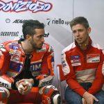 Andrea Dovizioso, Casey Stoner - © Ducati