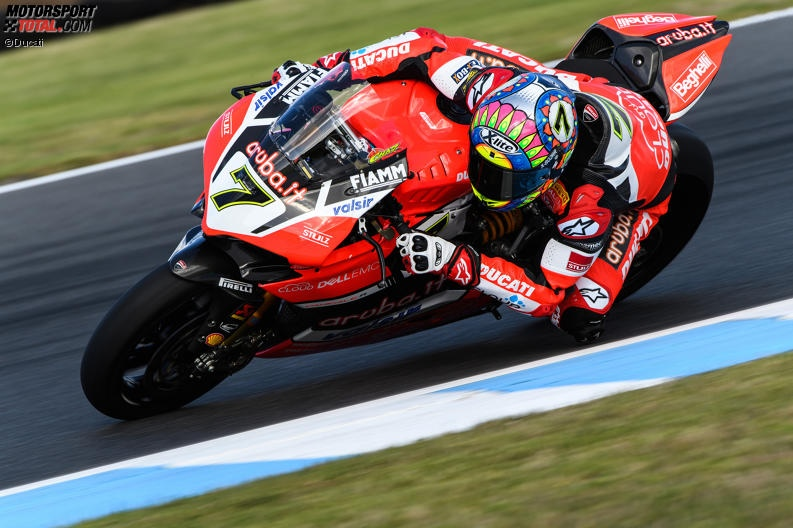 Superbike-WM Phillip Island: Davies am Freitag vor Rea