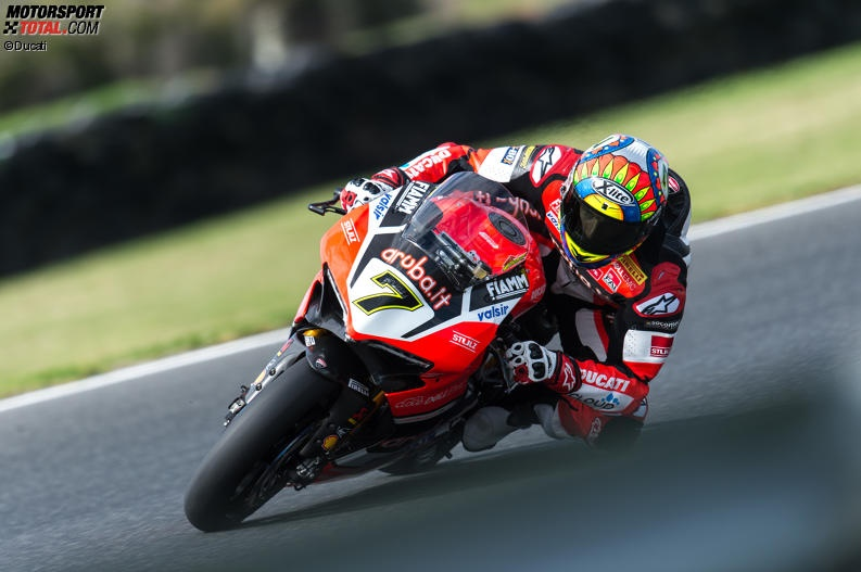 Ducati: Marco Melandri und Chaz Davies in Lauerstellung