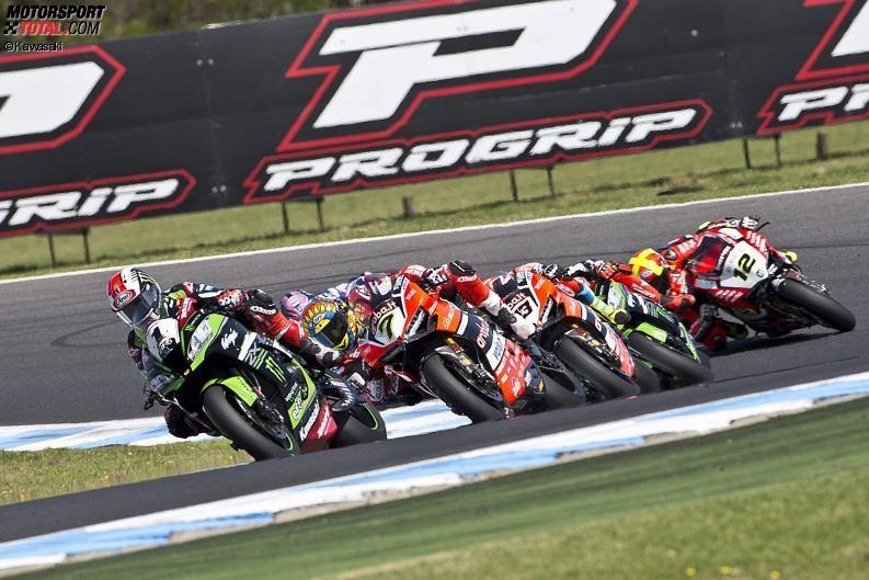 Superbike-WM Phillip Island: Doppelsieg für Jonathan Rea