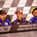 Jorge Lorenzo, Marc Marquez, Valentino Rossi - © GP-Fever.de