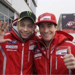 Valentino Rossi, Nicky Hayden - © Ducati