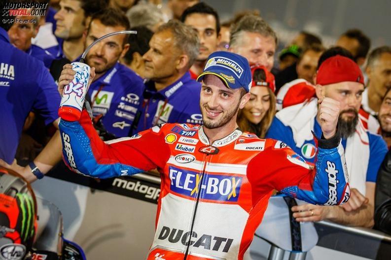 QatarGP - Andrea Dovizioso: Ducatis Reifenpoker geht auf - Platz zwei