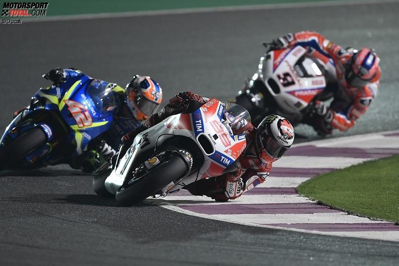 QatarGP - Jorge Lorenzo Elfter: