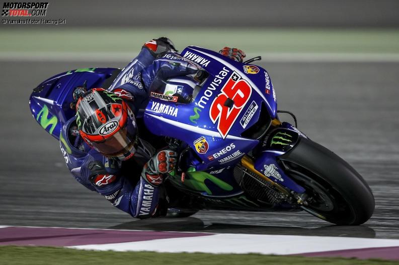 FP1 MotoGP 2017 Katar: Vinales vorne - Rossi fehlen 1,5 Sekunden