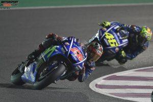 Maverick Vinales, Valentino Rossi - © Yamaha