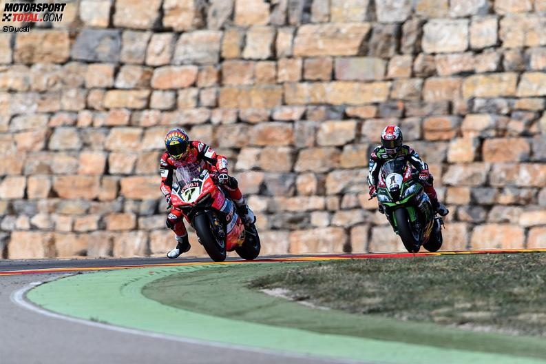 Chaz Davies, Jonathan Rea - © Ducati