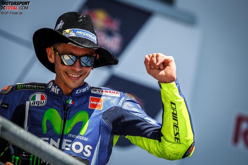 Dreikampf um die WM: Kann Rossi seinen Vorsprung halten?