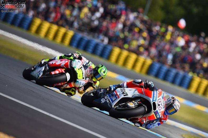Ducati zu weit weg von der Spitze: