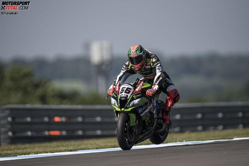 Superbike-WM Donington: Sykes triumphiert, Rea stürzt