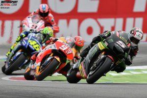 Johann Zarco, Marc Marquez, Valentino Rossi - © Michelin