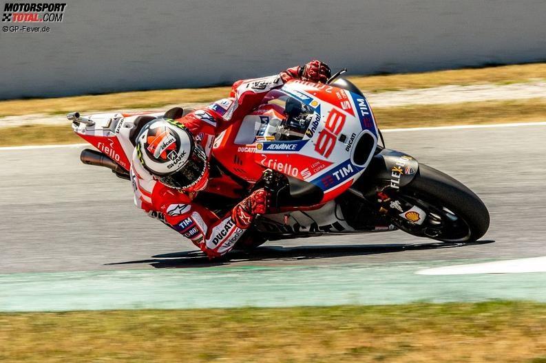 Ducati: Jorge Lorenzo ist auf einer