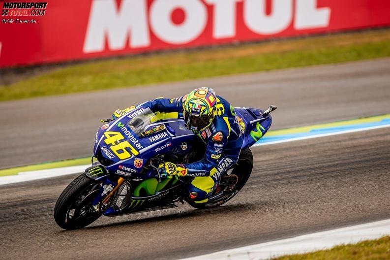 Rossi zufrieden, Vinales rätselt: Yamaha peilt Assen-Podium an