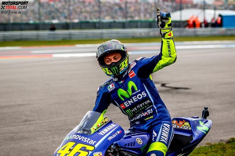 Valentino Rossi stolz: