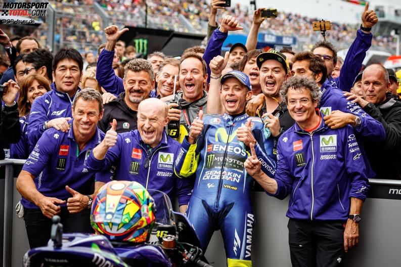 MotoGP Assen 2017: Valentino Rossi bejubelt ersten Saisonsieg
