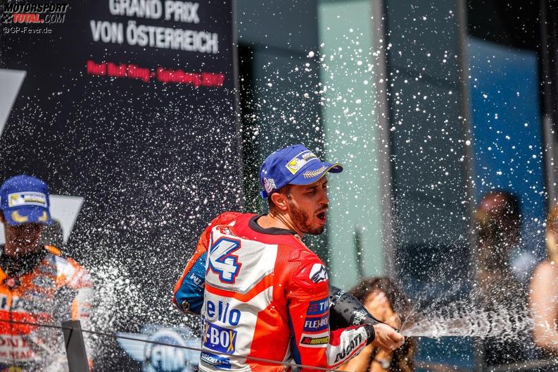 MotoGP Spielberg: Dovizioso erst verärgert, dann glücklich