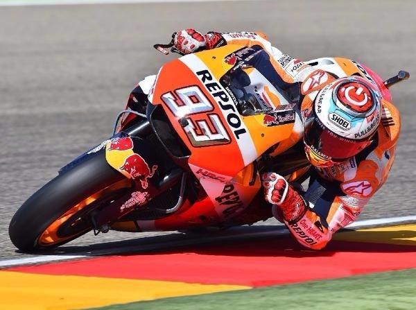 MotoGP Aragon: Marquez siegt vor Pedrosa, Rossi in den Top 5